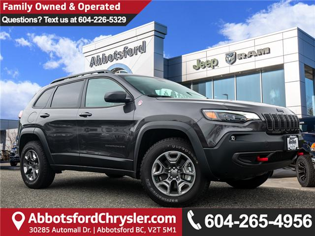 2019 Jeep Cherokee Trailhawk (Stk: K224300) in Abbotsford - Image 1 of 25