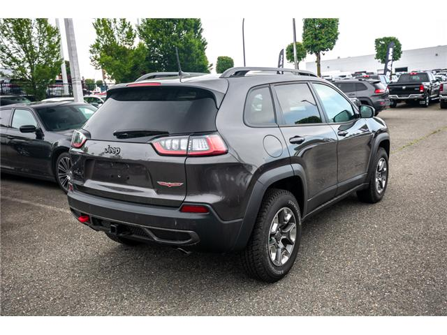 2019 Jeep Cherokee Trailhawk (Stk: K224300) in Abbotsford - Image 7 of 25