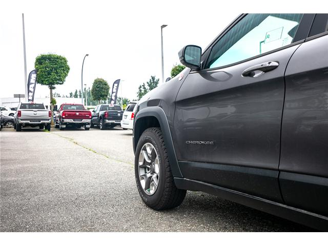 2019 Jeep Cherokee Trailhawk (Stk: K224300) in Abbotsford - Image 16 of 25