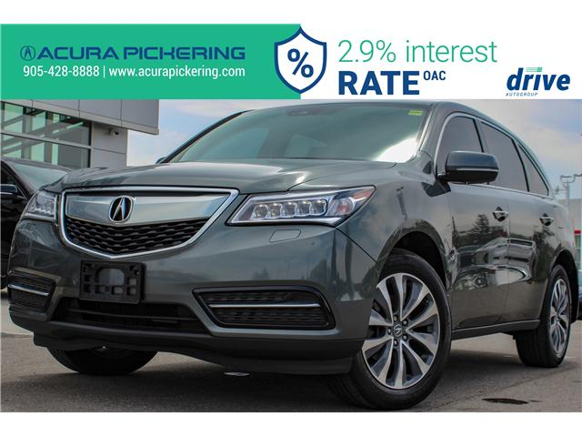 2016 Acura MDX Navigation Package (Stk: AP4858) in Pickering - Image 1 of 35