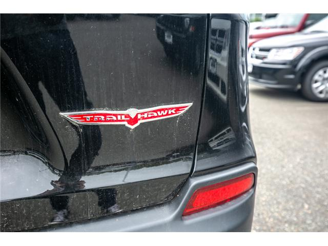 2019 Jeep Cherokee Trailhawk (Stk: K318601) in Abbotsford - Image 14 of 25