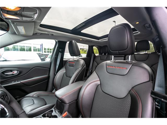 2019 Jeep Cherokee Trailhawk (Stk: K318601) in Abbotsford - Image 21 of 25