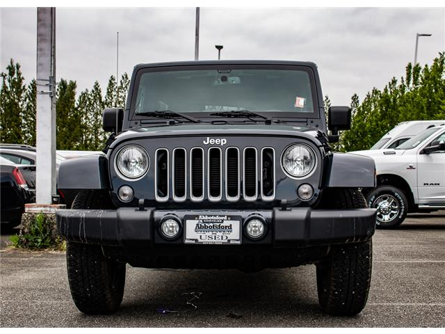 2018 Jeep Wrangler JK Unlimited Sahara (Stk: AB0849) in Abbotsford - Image 2 of 26