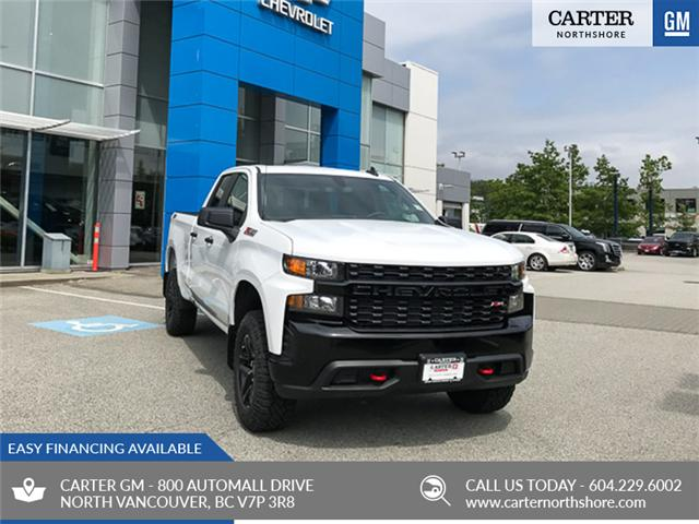 2019 Chevrolet Silverado 1500 Silverado Custom Trail Boss (Stk: 9L47290) in North Vancouver - Image 1 of 13