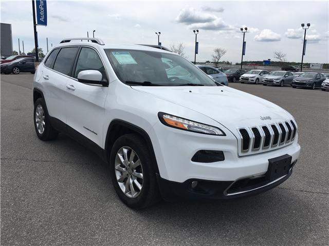 2016 Jeep Cherokee Limited (Stk: 16-15106T) in Barrie - Image 3 of 27
