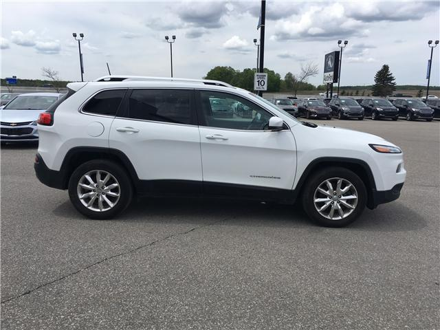 2016 Jeep Cherokee Limited (Stk: 16-15106T) in Barrie - Image 4 of 27