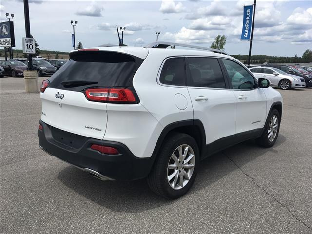 2016 Jeep Cherokee Limited (Stk: 16-15106T) in Barrie - Image 5 of 27