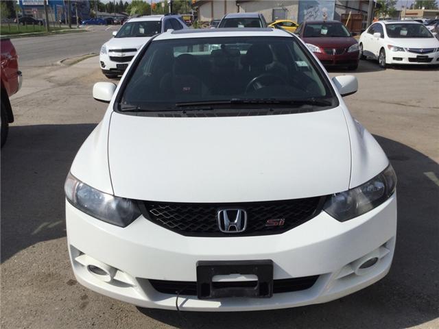 2009 Honda Civic Si (Stk: 1025) in Winnipeg - Image 1 of 16