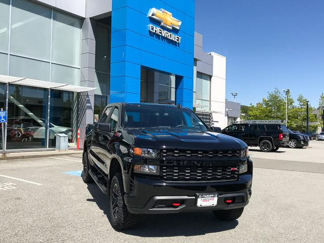 2019 Chevrolet Silverado 1500 Silverado Custom Trail Boss (Stk: 9L97300) in North Vancouver - Image 2 of 13