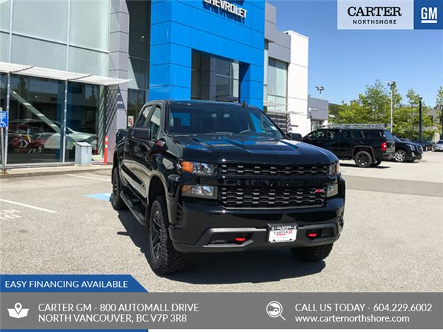 2019 Chevrolet Silverado 1500 Silverado Custom Trail Boss (Stk: 9L97300) in North Vancouver - Image 1 of 13