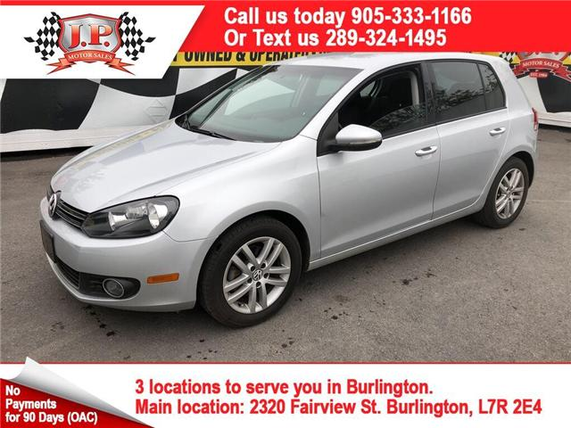 2011 Volkswagen Golf TDI Comfortline (Stk: 46976) in Burlington - Image 1 of 13