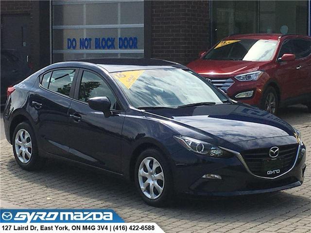 2016 Mazda Mazda3 GX (Stk: 28843) in East York - Image 1 of 29