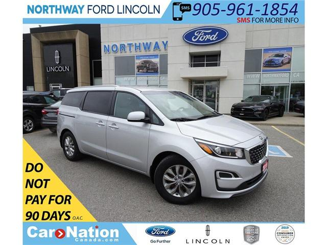 2019 Kia Sedona LX | HTD SEATS | 8 PASSENGER | REAR CAMERA | (Stk: DR197) in Brantford - Image 1 of 44