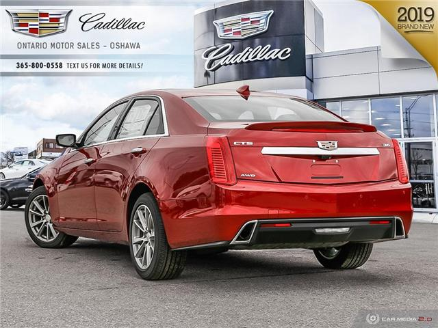 2019 Cadillac CTS 3.6L Luxury (Stk: 9101869) in Oshawa - Image 4 of 19