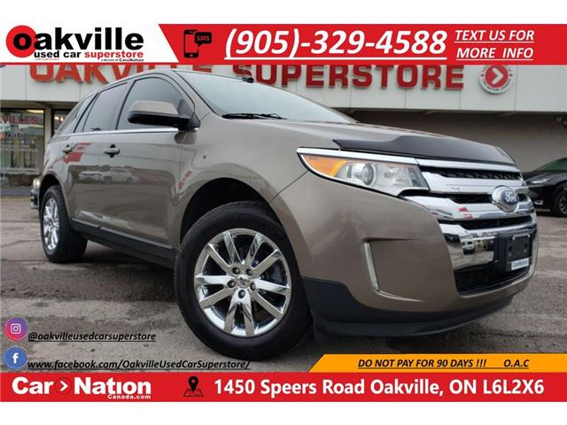 2013 Ford Edge LIMITED | NAVI | HEATED SEATS | LEATHER | B/U CAM (Stk: OSP025) in Oakville - Image 1 of 21