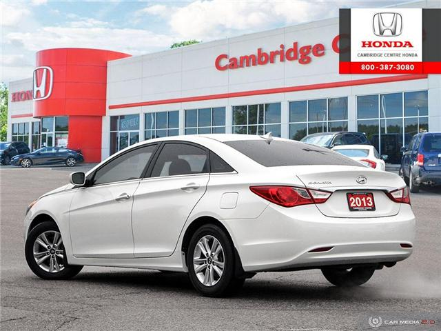 2013 Hyundai Sonata GLS (Stk: 19597A) in Cambridge - Image 4 of 27