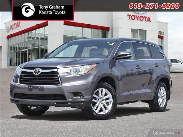 2014 Toyota Highlander LE (Stk: M2644) in Ottawa - Image 1 of 29