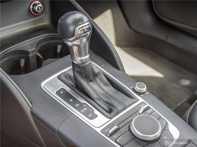 2016 Audi A3 2.0T Komfort (Stk: D1334) in Regina - Image 19 of 27
