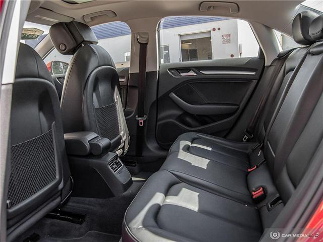 2016 Audi A3 2.0T Komfort (Stk: D1334) in Regina - Image 24 of 27