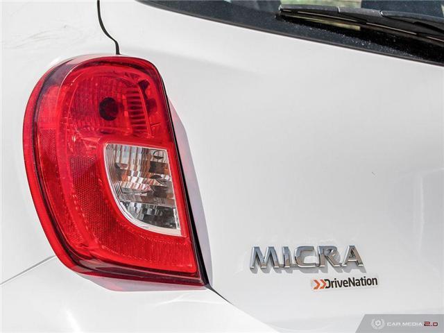 2017 Nissan Micra SV (Stk: D1331) in Regina - Image 11 of 27