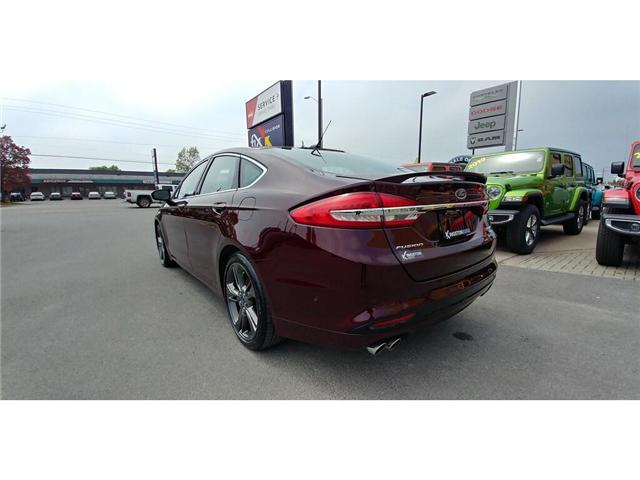 2017 Ford Fusion V6 Sport (Stk: 19T132A) in Kingston - Image 2 of 20