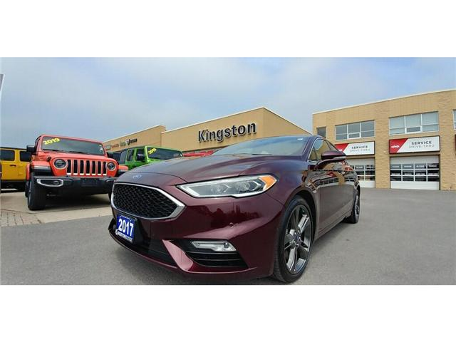 2017 Ford Fusion V6 Sport (Stk: 19T132A) in Kingston - Image 1 of 20