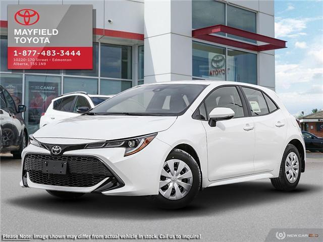2019 Toyota Corolla Hatchback Base (Stk: 1901158) in Edmonton - Image 1 of 24