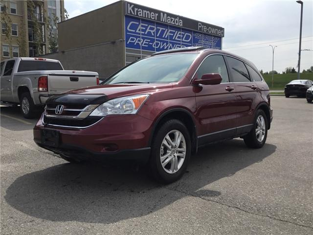 2010 Honda CR-V EX (Stk: N4781A) in Calgary - Image 1 of 16