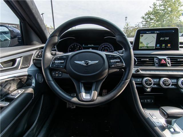 2019 Genesis G70 3.3T Advanced (Stk: P3304) in Ottawa - Image 9 of 13