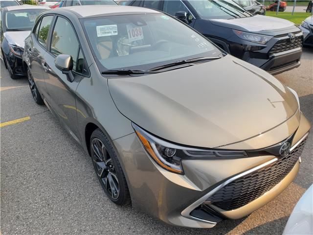 2019 Toyota Corolla Hatchback Base (Stk: 9-1039) in Etobicoke - Image 1 of 10