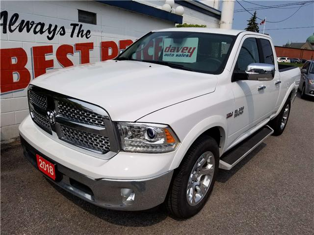 2018 RAM 1500 Laramie (Stk: 19-001) in Oshawa - Image 1 of 14