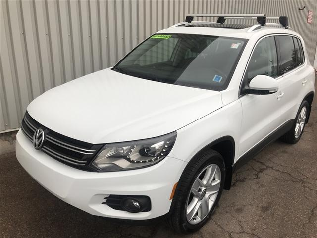 2016 Volkswagen Tiguan Highline (Stk: X4692A) in Charlottetown - Image 1 of 43