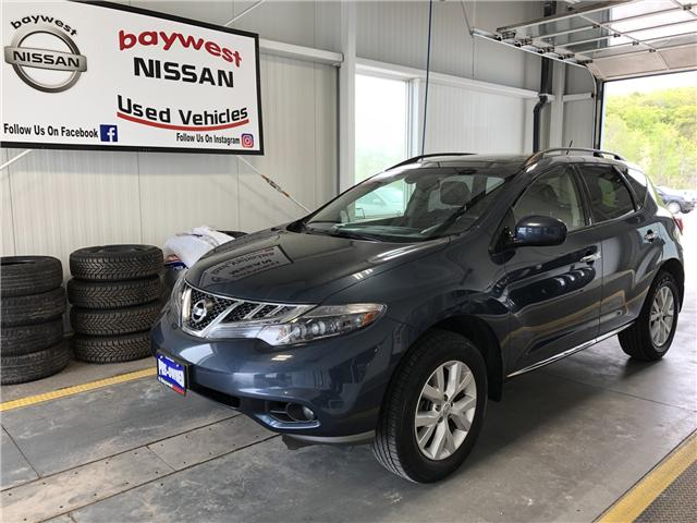 2013 Nissan Murano SL (Stk: 19240A) in Owen Sound - Image 1 of 12