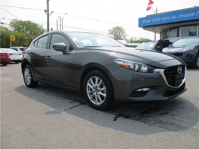 2018 Mazda Mazda3 Sport GS (Stk: 190637) in North Bay - Image 1 of 14
