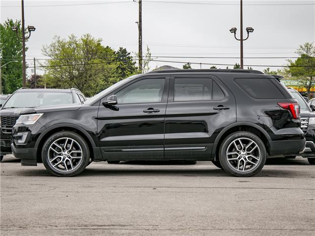 2016 Ford Explorer Sport (Stk: 1HL136X) in Hamilton - Image 4 of 29