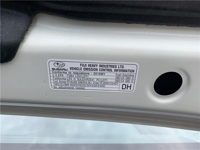 2015 Subaru XV Crosstrek Touring (Stk: FH296676) in Sarnia - Image 28 of 28