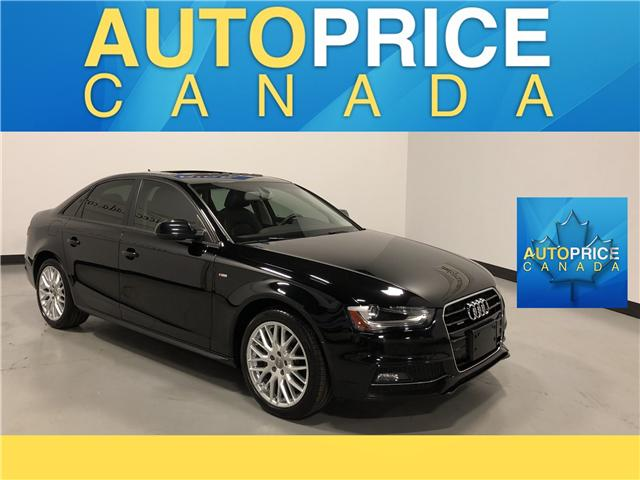 2015 Audi A4 2.0T Komfort plus (Stk: W0365) in Mississauga - Image 1 of 23