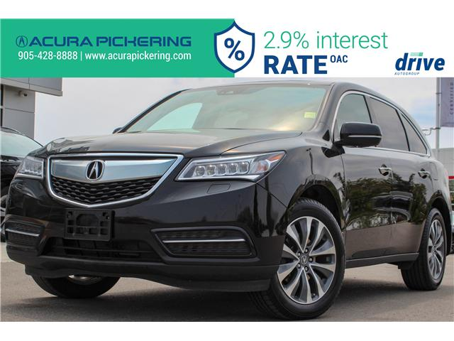2016 Acura MDX Technology Package (Stk: AP4854) in Pickering - Image 1 of 37