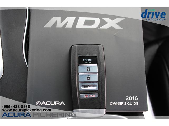 2016 Acura MDX Technology Package (Stk: AP4854) in Pickering - Image 37 of 37