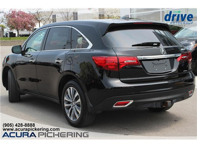 2016 Acura MDX Technology Package (Stk: AP4854) in Pickering - Image 10 of 37