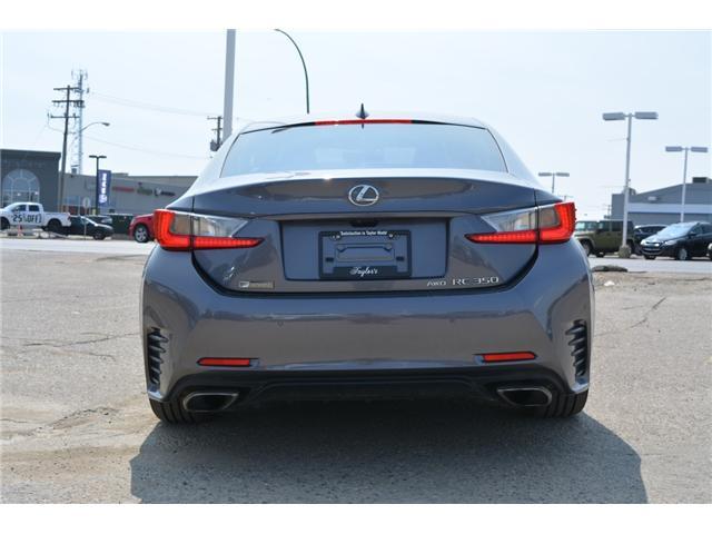2016 Lexus RC 350 Base (Stk: 126844) in Regina - Image 8 of 37