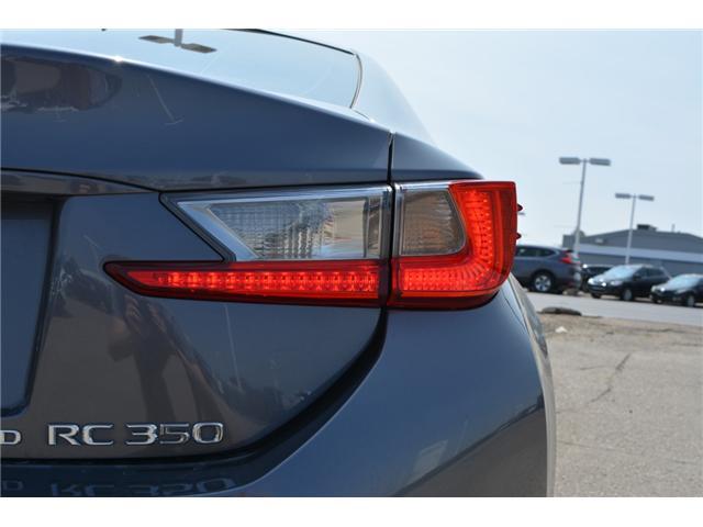2016 Lexus RC 350 Base (Stk: 126844) in Regina - Image 12 of 37