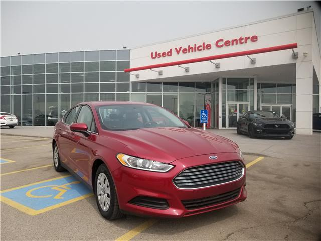2014 Ford Fusion S (Stk: U194179) in Calgary - Image 1 of 21