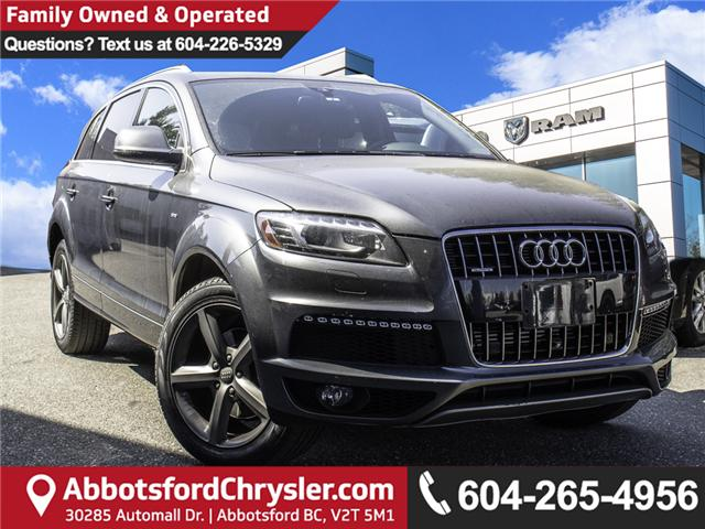 2015 Audi Q7 3.0T Sport (Stk: AB0857) in Abbotsford - Image 1 of 24