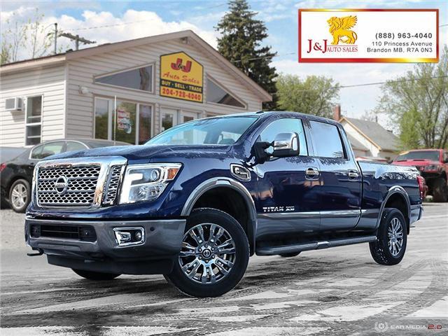 2016 Nissan Titan XD Platinum Reserve Diesel (Stk: JB17166) in Brandon - Image 1 of 27
