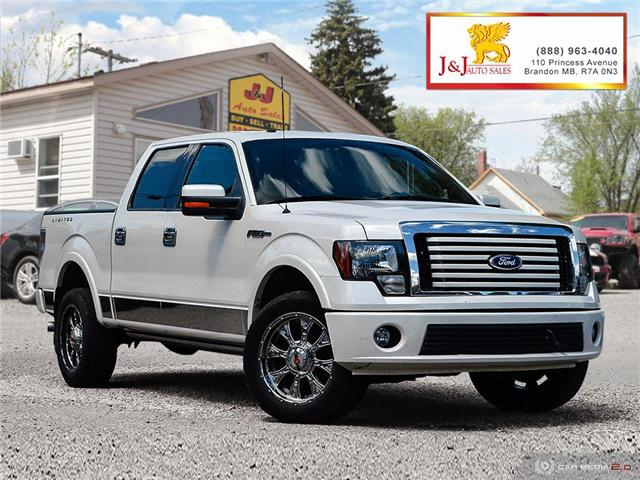 2011 Ford F-150 Lariat Limited (Stk: J18055) in Brandon - Image 1 of 27