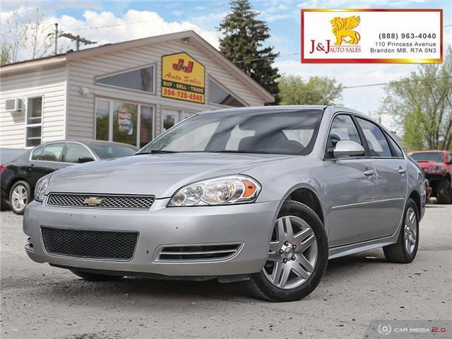 2013 Chevrolet Impala LT (Stk: J18071) in Brandon - Image 1 of 27
