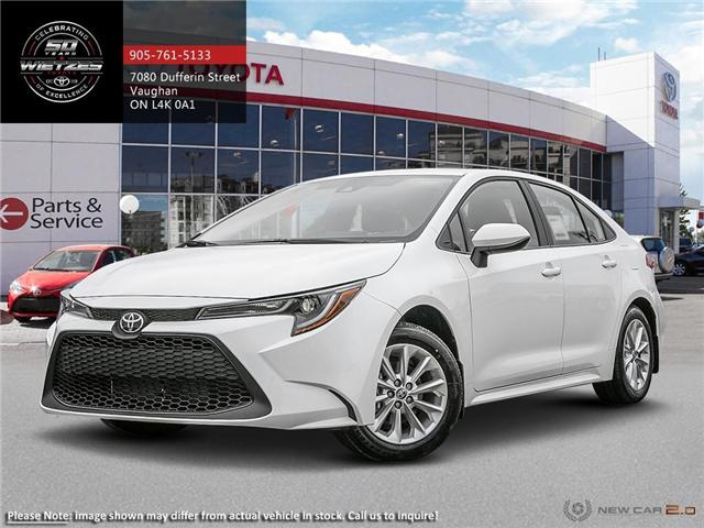 2020 Toyota Corolla LE Upgrade Package (Stk: 68491) in Vaughan - Image 1 of 24
