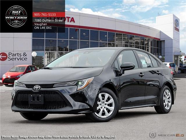 2020 Toyota Corolla LE (Stk: 68554) in Vaughan - Image 1 of 24