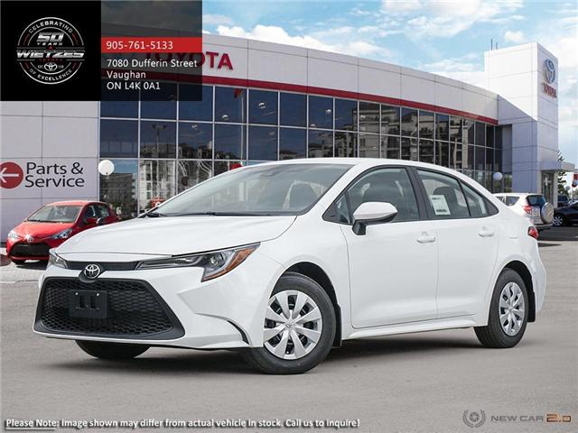 2020 Toyota Corolla L CVT (Stk: 68619) in Vaughan - Image 1 of 24